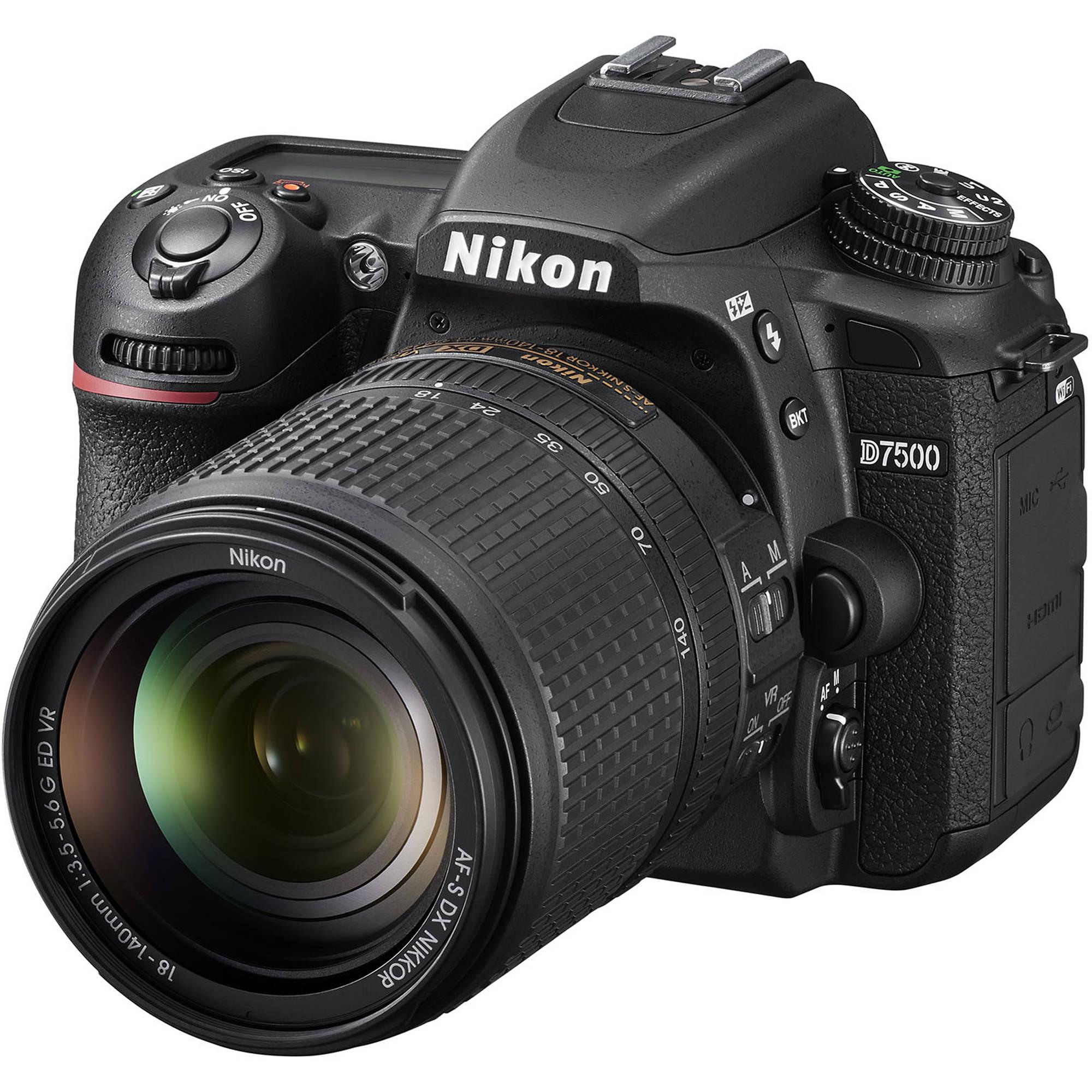 Best Budget DSLR 2018 Nikon D7500